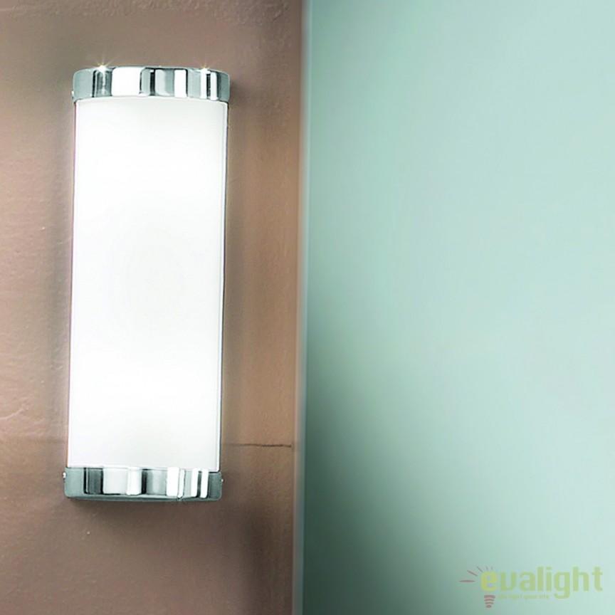 Aplica de perete pentru baie IP44 Tea Soff 3-460/2 chrom OR, Aplice pentru baie, oglinda, tablou, Corpuri de iluminat, lustre, aplice, veioze, lampadare, plafoniere. Mobilier si decoratiuni, oglinzi, scaune, fotolii. Oferte speciale iluminat interior si exterior. Livram in toata tara.  a