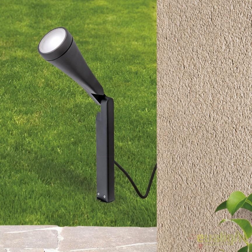 Stalp LED iluminat exterior IP44 H25cm Kaha AL 11-1161 Anthrazit OR, Stalpi de iluminat exterior mici si medii , Corpuri de iluminat, lustre, aplice, veioze, lampadare, plafoniere. Mobilier si decoratiuni, oglinzi, scaune, fotolii. Oferte speciale iluminat interior si exterior. Livram in toata tara.  a