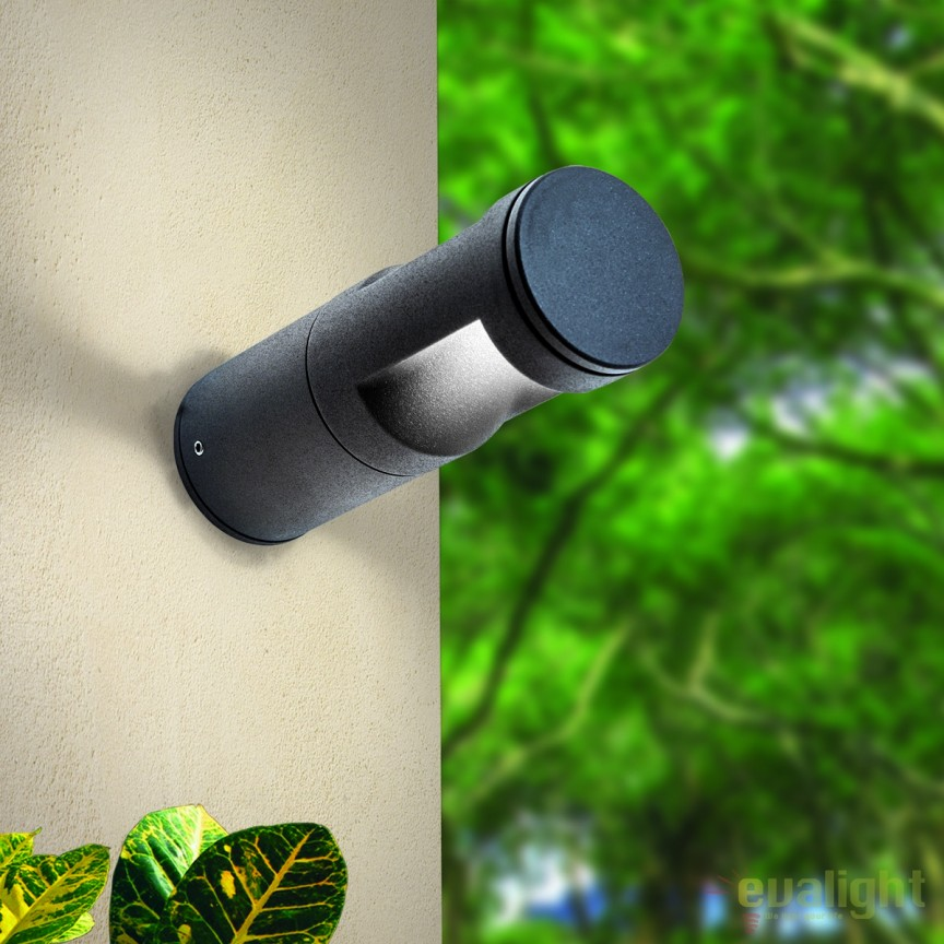 Aplica perete LED iluminat exterior IP65 Kenta AL 11K/409.018 anthrazit OR, Aplice de exterior moderne , Corpuri de iluminat, lustre, aplice, veioze, lampadare, plafoniere. Mobilier si decoratiuni, oglinzi, scaune, fotolii. Oferte speciale iluminat interior si exterior. Livram in toata tara.  a
