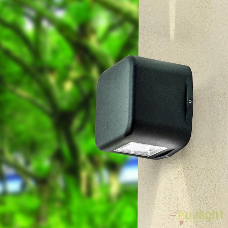 Aplica perete LED iluminat exterior IP65 Kenta AL 11K/404 anthrazit OR, Aplice de exterior moderne , Corpuri de iluminat, lustre, aplice, veioze, lampadare, plafoniere. Mobilier si decoratiuni, oglinzi, scaune, fotolii. Oferte speciale iluminat interior si exterior. Livram in toata tara.  a