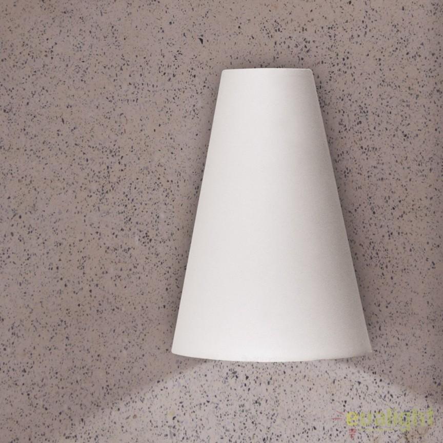 Aplica perete LED iluminat exterior IP44 Miyu AL 11-1163 weiß OR, Aplice de exterior moderne , Corpuri de iluminat, lustre, aplice, veioze, lampadare, plafoniere. Mobilier si decoratiuni, oglinzi, scaune, fotolii. Oferte speciale iluminat interior si exterior. Livram in toata tara.  a