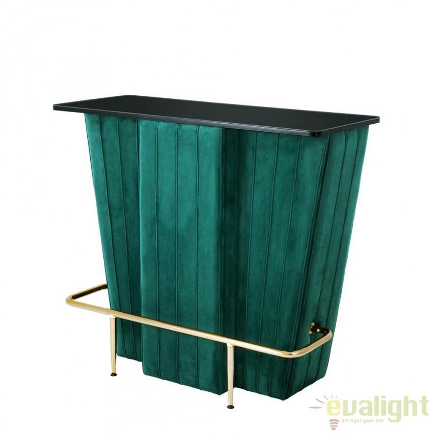 Bar design LUX Bolton verde/ negru 111535 HZ, Mobilier divers, Corpuri de iluminat, lustre, aplice, veioze, lampadare, plafoniere. Mobilier si decoratiuni, oglinzi, scaune, fotolii. Oferte speciale iluminat interior si exterior. Livram in toata tara.  a