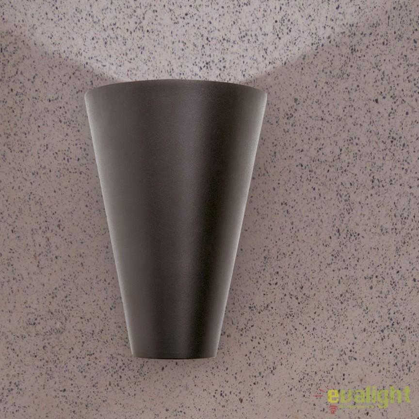 Aplica perete LED iluminat exterior IP44 Miyu AL 11-1163 Anthrazit OR, Aplice de exterior moderne , Corpuri de iluminat, lustre, aplice, veioze, lampadare, plafoniere. Mobilier si decoratiuni, oglinzi, scaune, fotolii. Oferte speciale iluminat interior si exterior. Livram in toata tara.  a