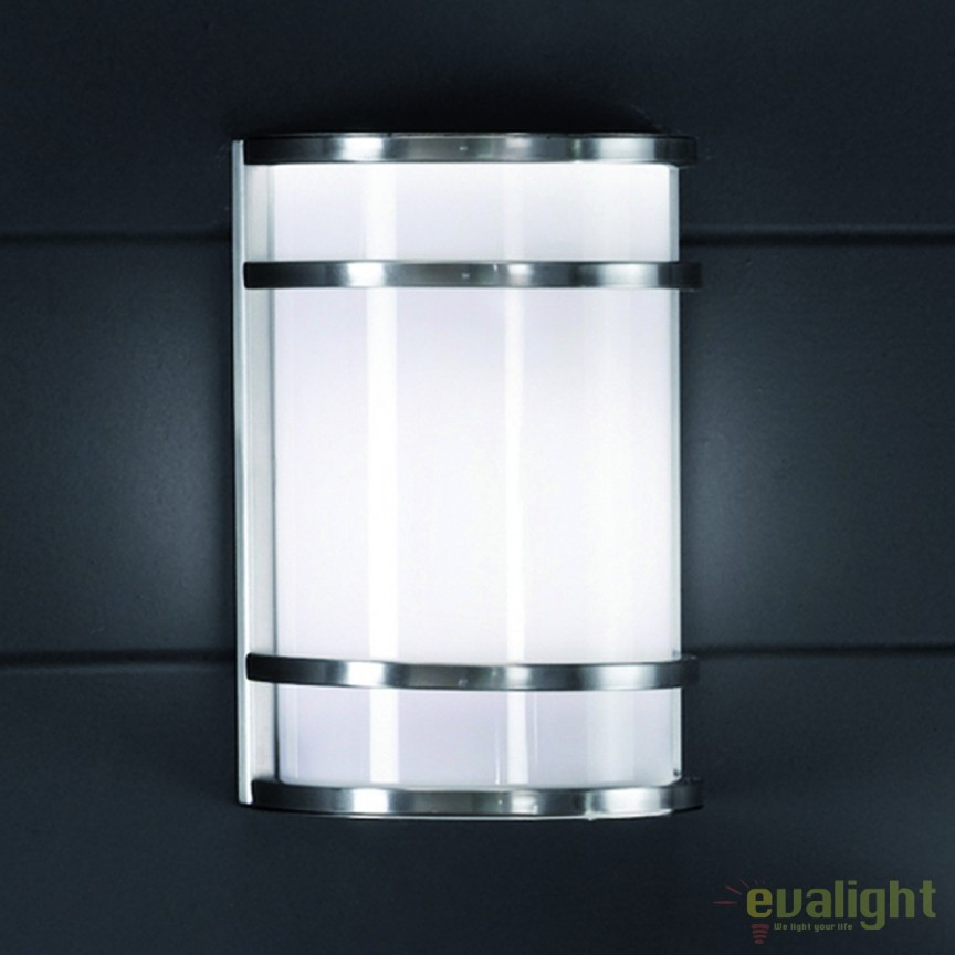 Aplica perete iluminat exterior IP44 Hana AL 11-1146/1 Edelstahl OR, Aplice de exterior moderne , Corpuri de iluminat, lustre, aplice, veioze, lampadare, plafoniere. Mobilier si decoratiuni, oglinzi, scaune, fotolii. Oferte speciale iluminat interior si exterior. Livram in toata tara.  a