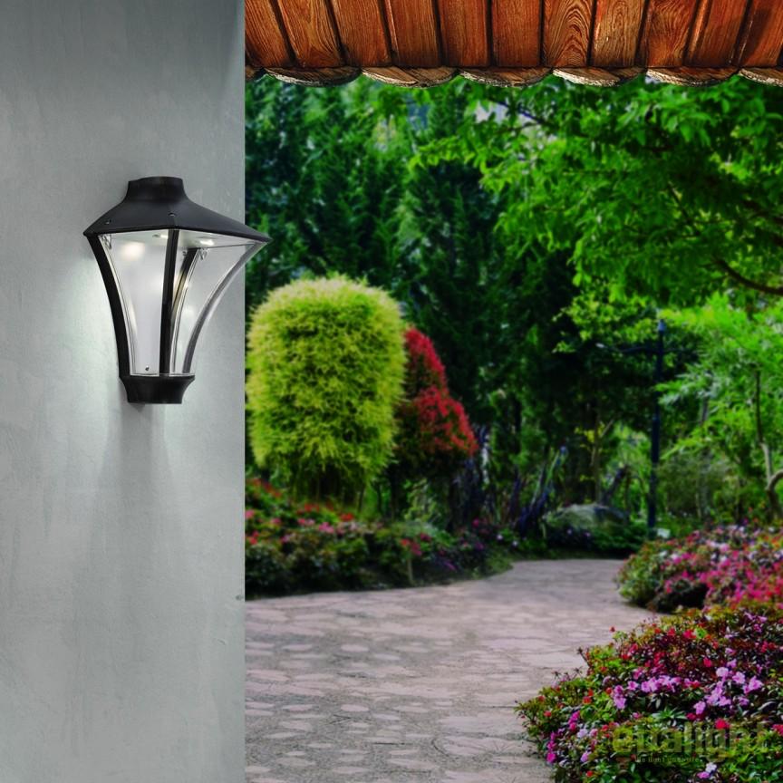Aplica perete LED iluminat exterior IP65 DAIKO AL 11K/175 schwarz-kupfer OR, Aplice de exterior moderne , Corpuri de iluminat, lustre, aplice, veioze, lampadare, plafoniere. Mobilier si decoratiuni, oglinzi, scaune, fotolii. Oferte speciale iluminat interior si exterior. Livram in toata tara.  a