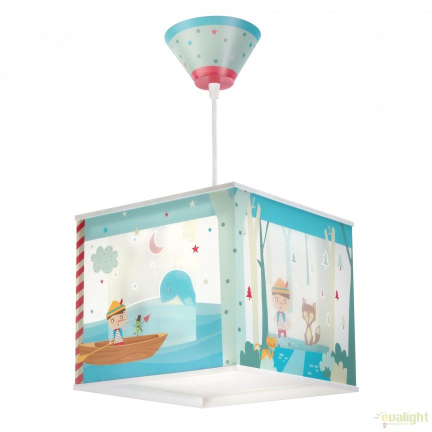 aplica perete sau tavan camera copii cu imagini imprimate pinocchio 64476 bd corpuri de. Black Bedroom Furniture Sets. Home Design Ideas