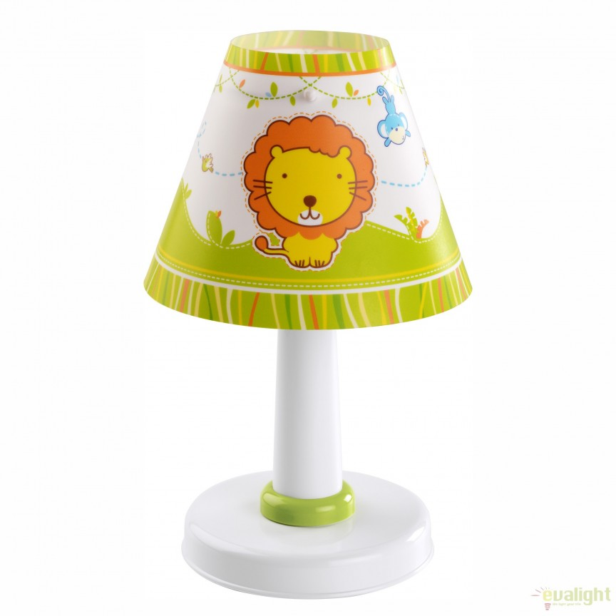 Veioza camera copii cu imagini imprimate, Little Zoo 21111 DB, PROMOTII, Corpuri de iluminat, lustre, aplice, veioze, lampadare, plafoniere. Mobilier si decoratiuni, oglinzi, scaune, fotolii. Oferte speciale iluminat interior si exterior. Livram in toata tara.  a