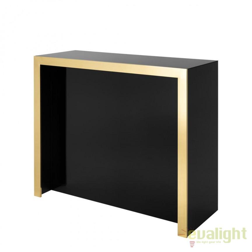 Bar design LUX Grimaldi negru 111437 HZ, Mobilier divers, Corpuri de iluminat, lustre, aplice, veioze, lampadare, plafoniere. Mobilier si decoratiuni, oglinzi, scaune, fotolii. Oferte speciale iluminat interior si exterior. Livram in toata tara.  a