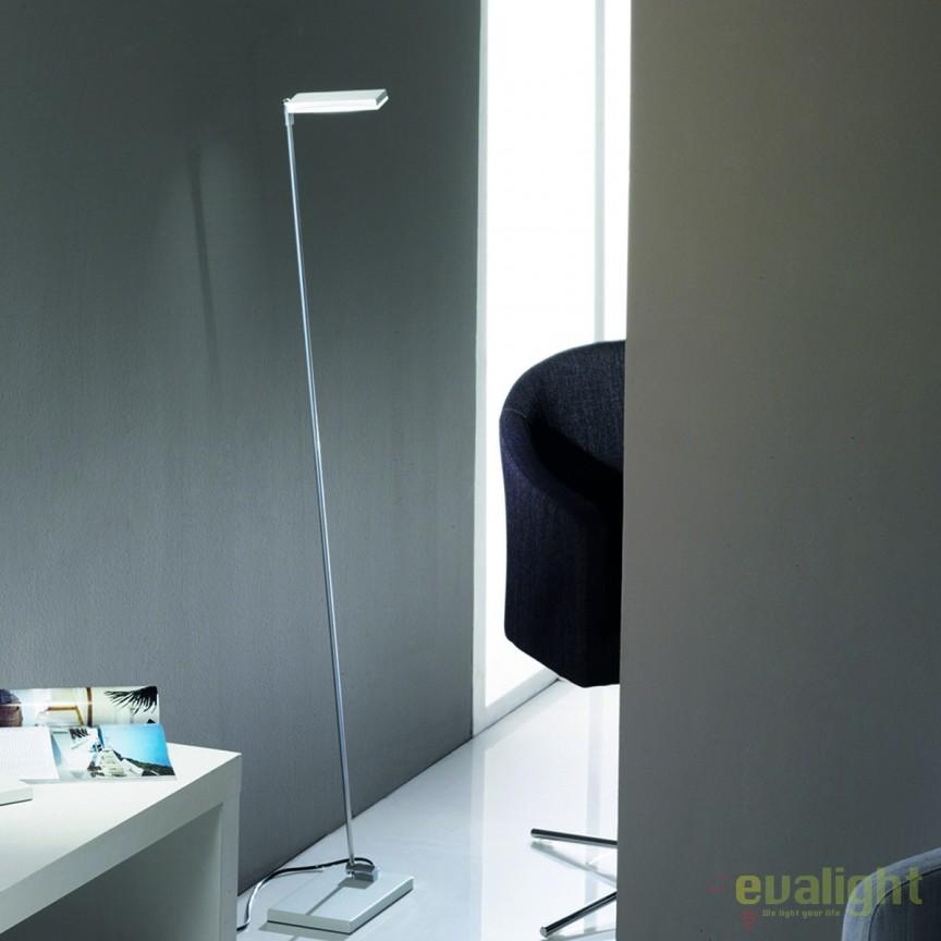 Lampadar LED / Lampa de podea design modern Sela Stl 12-1136/1 chrom/weiß OR, Veioze LED, Lampadare LED, Corpuri de iluminat, lustre, aplice, veioze, lampadare, plafoniere. Mobilier si decoratiuni, oglinzi, scaune, fotolii. Oferte speciale iluminat interior si exterior. Livram in toata tara.  a