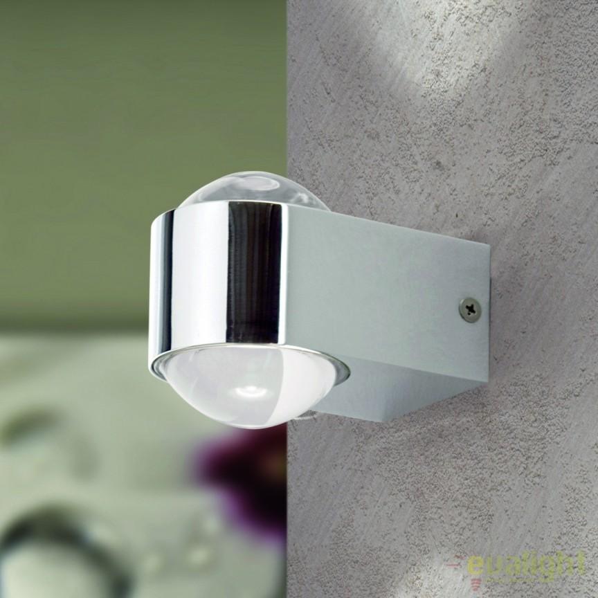 Aplica de perete LED exterior stil modern IP44 Kalo WA 2-1310 chrom OR, ILUMINAT EXTERIOR, Corpuri de iluminat, lustre, aplice, veioze, lampadare, plafoniere. Mobilier si decoratiuni, oglinzi, scaune, fotolii. Oferte speciale iluminat interior si exterior. Livram in toata tara.  a