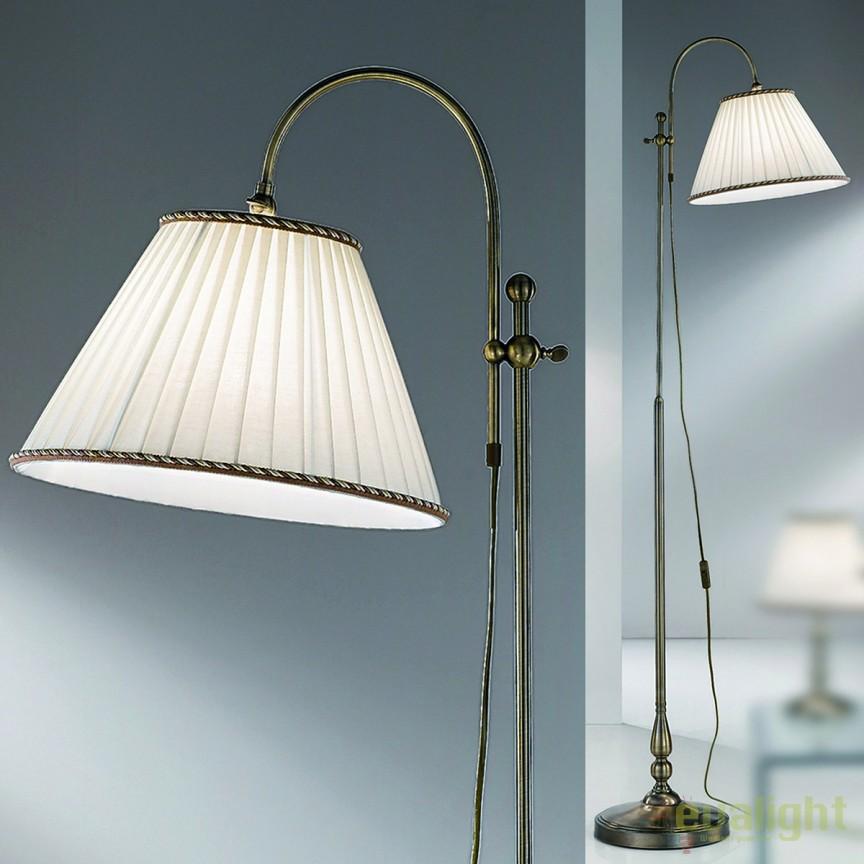 Lampadar / Lampa de podea stil clasic H183cm Tonia Stl 12-1101/1 Patina OR, Lampadare clasice, Corpuri de iluminat, lustre, aplice, veioze, lampadare, plafoniere. Mobilier si decoratiuni, oglinzi, scaune, fotolii. Oferte speciale iluminat interior si exterior. Livram in toata tara.  a