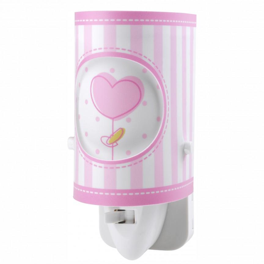 Lampa de veghe camera copii Sweet Light roz 63221L DB, Lustre - Iluminat pentru camera Copii, Corpuri de iluminat, lustre, aplice, veioze, lampadare, plafoniere. Mobilier si decoratiuni, oglinzi, scaune, fotolii. Oferte speciale iluminat interior si exterior. Livram in toata tara.  a