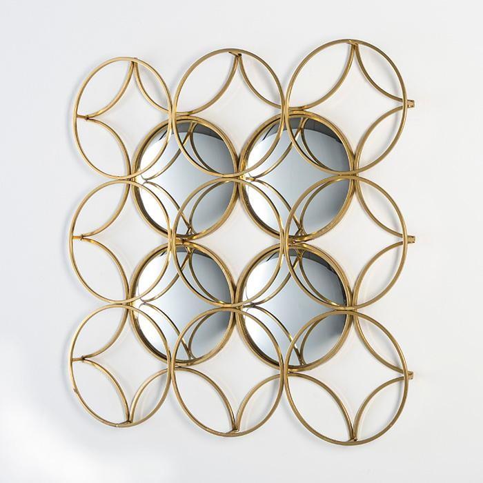 Oglinzi decorative corpuri de iluminat lustre aplice for Decoracion en metal para pared
