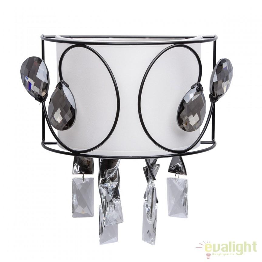 Aplica perete LED design elegant Jacqueline 465024204 MW, Aplice de perete LED, Corpuri de iluminat, lustre, aplice, veioze, lampadare, plafoniere. Mobilier si decoratiuni, oglinzi, scaune, fotolii. Oferte speciale iluminat interior si exterior. Livram in toata tara.  a
