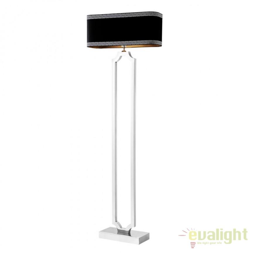 Lampadar design LUX Sterlington nickel 110211 HZ, Lampadare, Corpuri de iluminat, lustre, aplice, veioze, lampadare, plafoniere. Mobilier si decoratiuni, oglinzi, scaune, fotolii. Oferte speciale iluminat interior si exterior. Livram in toata tara.  a