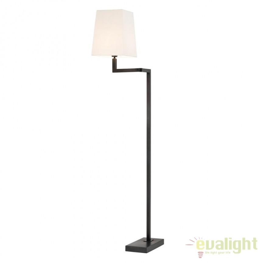 Lampadar design LUX Cambell bronz/ alb 110842 HZ, Lampadare, Corpuri de iluminat, lustre, aplice, veioze, lampadare, plafoniere. Mobilier si decoratiuni, oglinzi, scaune, fotolii. Oferte speciale iluminat interior si exterior. Livram in toata tara.  a