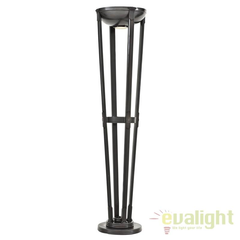 Lampadar din metal finisaj bronz LUX Demoiselle 107974 HZ, Lampadare, Corpuri de iluminat, lustre, aplice, veioze, lampadare, plafoniere. Mobilier si decoratiuni, oglinzi, scaune, fotolii. Oferte speciale iluminat interior si exterior. Livram in toata tara.  a