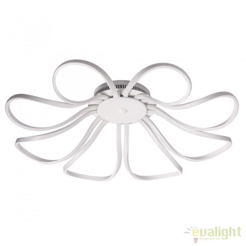 Lustra LED design moden diam.83cm Aurich 496017008 MW, Lustre LED, Pendule LED, Corpuri de iluminat, lustre, aplice, veioze, lampadare, plafoniere. Mobilier si decoratiuni, oglinzi, scaune, fotolii. Oferte speciale iluminat interior si exterior. Livram in toata tara.  a
