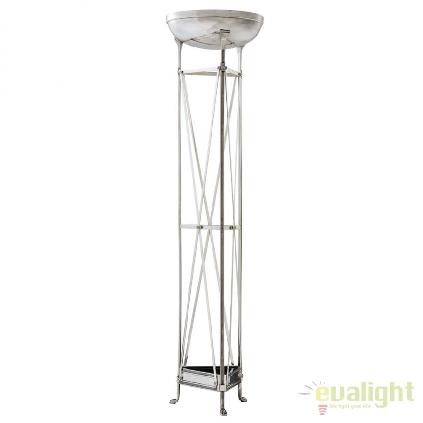 Lampadar/ Lampa de podea design LUX Alexa argintiu antic 110813 HZ, Lampadare, Corpuri de iluminat, lustre, aplice, veioze, lampadare, plafoniere. Mobilier si decoratiuni, oglinzi, scaune, fotolii. Oferte speciale iluminat interior si exterior. Livram in toata tara.  a
