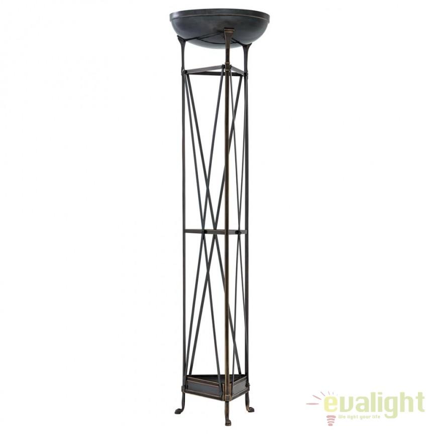 Lampadar/ Lampa de podea design LUX Alexa bronz 110814 HZ, Lampadare, Corpuri de iluminat, lustre, aplice, veioze, lampadare, plafoniere. Mobilier si decoratiuni, oglinzi, scaune, fotolii. Oferte speciale iluminat interior si exterior. Livram in toata tara.  a
