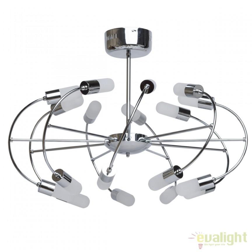 Lustra LED design modern diam.70cm Bera 329010718 MW, Lustre LED, Pendule LED, Corpuri de iluminat, lustre, aplice, veioze, lampadare, plafoniere. Mobilier si decoratiuni, oglinzi, scaune, fotolii. Oferte speciale iluminat interior si exterior. Livram in toata tara.  a