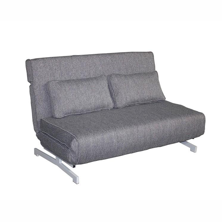 Canapea extensibila cu structura din metal Evan gri 52436 SAP, Canapele - Coltare, Corpuri de iluminat, lustre, aplice, veioze, lampadare, plafoniere. Mobilier si decoratiuni, oglinzi, scaune, fotolii. Oferte speciale iluminat interior si exterior. Livram in toata tara.  a