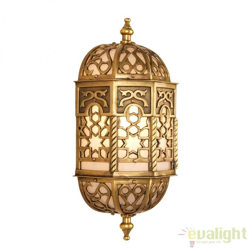 Aplica de perete design LUX Eveze 110158 HZ, Aplice de perete moderne, Corpuri de iluminat, lustre, aplice, veioze, lampadare, plafoniere. Mobilier si decoratiuni, oglinzi, scaune, fotolii. Oferte speciale iluminat interior si exterior. Livram in toata tara.  a