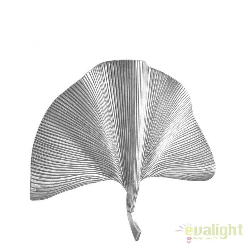 Aplica de perete design LUX Las Palmas argintiu 111275 HZ, Aplice de perete moderne, Corpuri de iluminat, lustre, aplice, veioze, lampadare, plafoniere. Mobilier si decoratiuni, oglinzi, scaune, fotolii. Oferte speciale iluminat interior si exterior. Livram in toata tara.  a