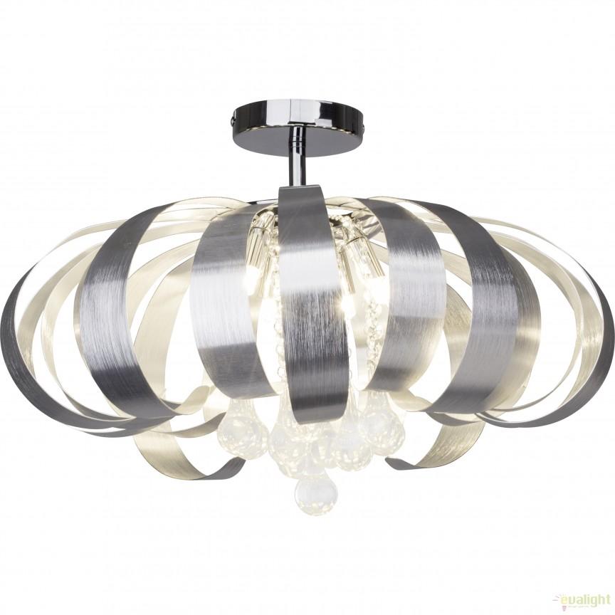 Plafoniera design modern STRADIVARI aluminiu 93254/21 BL, Plafoniere moderne, Corpuri de iluminat, lustre, aplice, veioze, lampadare, plafoniere. Mobilier si decoratiuni, oglinzi, scaune, fotolii. Oferte speciale iluminat interior si exterior. Livram in toata tara.  a