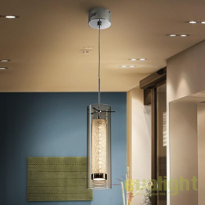 Pendul LED design modern diam.10cm Zila SV-860627, Lustre LED, Pendule LED, Corpuri de iluminat, lustre, aplice, veioze, lampadare, plafoniere. Mobilier si decoratiuni, oglinzi, scaune, fotolii. Oferte speciale iluminat interior si exterior. Livram in toata tara.  a