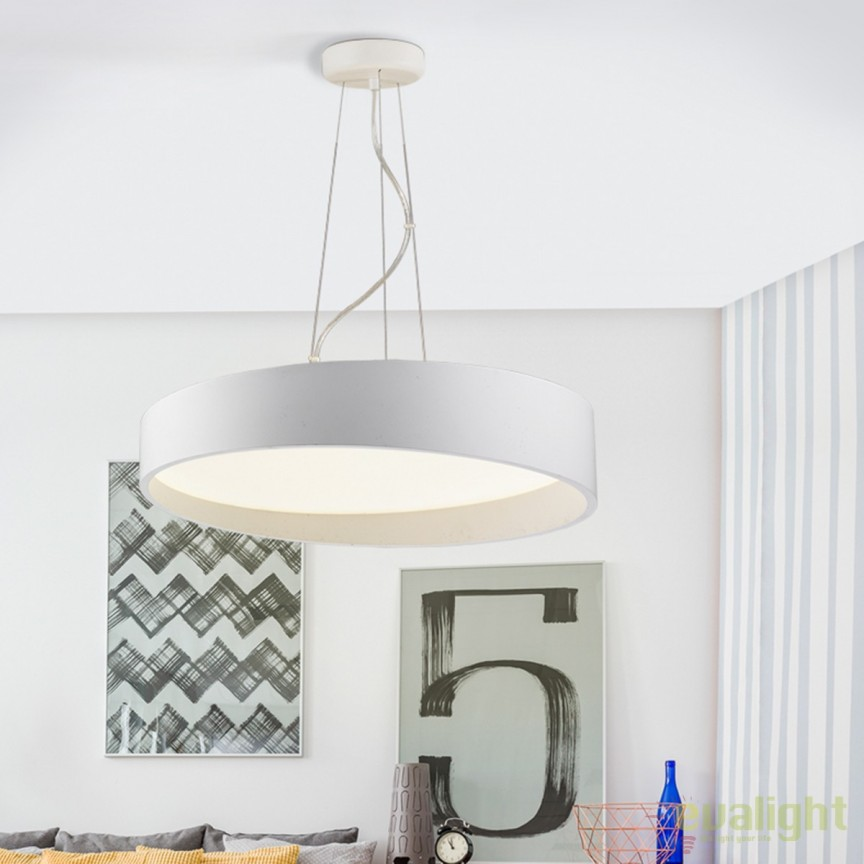 Lustra LED moderna diam.60cm Circus SV-634538, Lustre LED, Pendule LED, Corpuri de iluminat, lustre, aplice, veioze, lampadare, plafoniere. Mobilier si decoratiuni, oglinzi, scaune, fotolii. Oferte speciale iluminat interior si exterior. Livram in toata tara.  a
