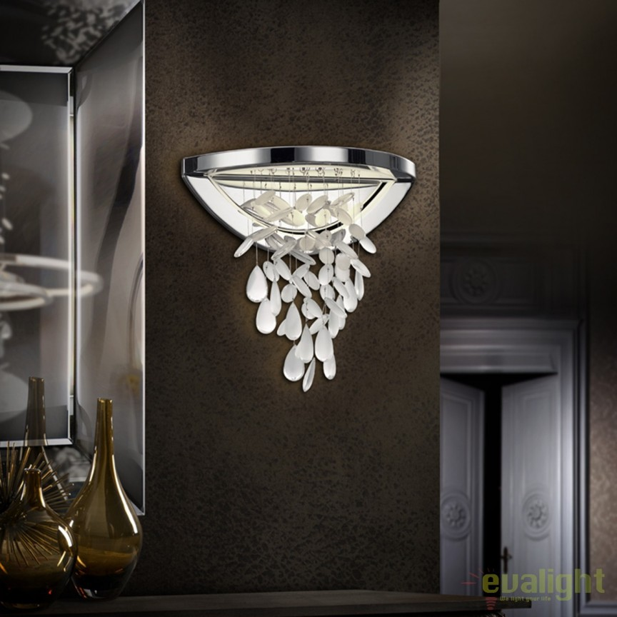 Aplica de perete LED design elegant BRUMA SV-696705, Aplice de perete LED, Corpuri de iluminat, lustre, aplice, veioze, lampadare, plafoniere. Mobilier si decoratiuni, oglinzi, scaune, fotolii. Oferte speciale iluminat interior si exterior. Livram in toata tara.  a