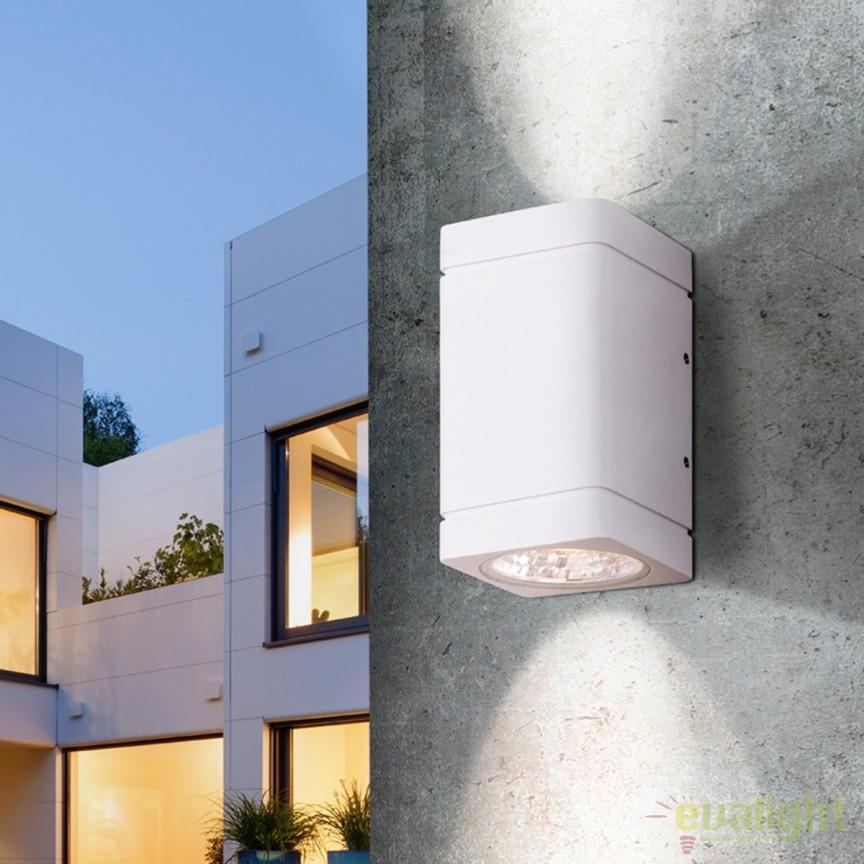 Aplica perete LED cu proiector iluminat Up & Down IP54 Gregal SV-429621, ILUMINAT EXTERIOR, Corpuri de iluminat, lustre, aplice, veioze, lampadare, plafoniere. Mobilier si decoratiuni, oglinzi, scaune, fotolii. Oferte speciale iluminat interior si exterior. Livram in toata tara.  a