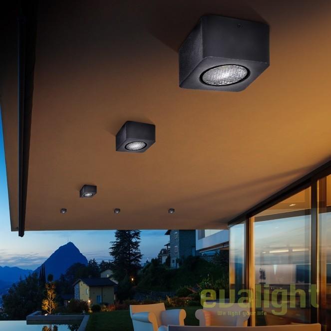 Plafoniera sau Tarus LED iluminat exterior IP65 Gregal SV-429948, Proiectoare de exterior cu tarus, Corpuri de iluminat, lustre, aplice, veioze, lampadare, plafoniere. Mobilier si decoratiuni, oglinzi, scaune, fotolii. Oferte speciale iluminat interior si exterior. Livram in toata tara.  a