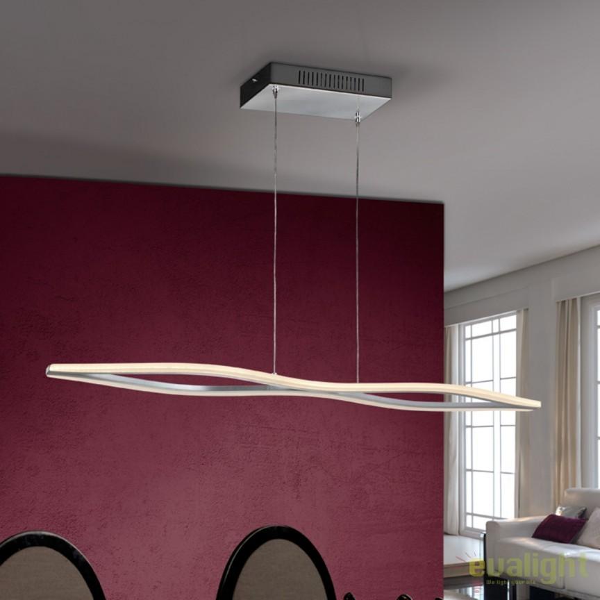 Lustra LED design modern Enia SV-863402, Lustre LED, Pendule LED, Corpuri de iluminat, lustre, aplice, veioze, lampadare, plafoniere. Mobilier si decoratiuni, oglinzi, scaune, fotolii. Oferte speciale iluminat interior si exterior. Livram in toata tara.  a