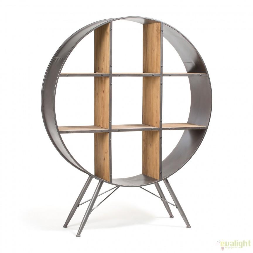 Raft design industrial HELIA AA0688M01 JG, PROMOTII, Corpuri de iluminat, lustre, aplice, veioze, lampadare, plafoniere. Mobilier si decoratiuni, oglinzi, scaune, fotolii. Oferte speciale iluminat interior si exterior. Livram in toata tara.  a