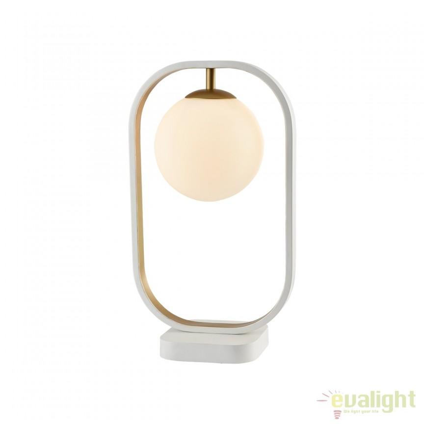 Veioza / Lampa de masa design modern Avola I MYMOD431-TL-01-WG, PROMOTII,  a