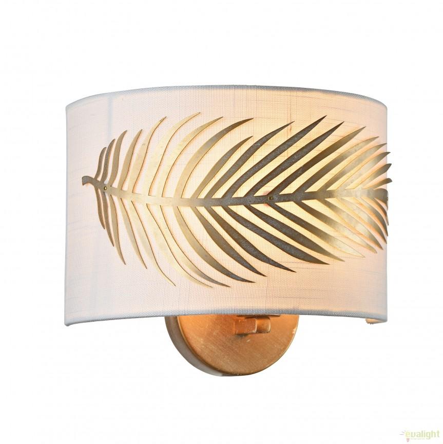 Aplica de perete stil clasic Farn MYH428-WL-01-WG, Promotii si Reduceri⭐ Oferte ✅Corpuri de iluminat ✅Lustre ✅Mobila ✅Decoratiuni de interior si exterior.⭕Pret redus online➜Lichidari de stoc❗ Magazin ➽ www.evalight.ro. a