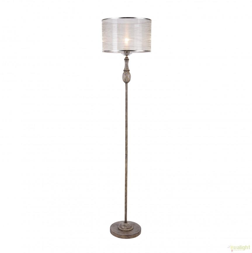 Lampadar / Lampa de podea design clasic Cable MYH357-FL-01-BG, Lampadare clasice, Corpuri de iluminat, lustre, aplice, veioze, lampadare, plafoniere. Mobilier si decoratiuni, oglinzi, scaune, fotolii. Oferte speciale iluminat interior si exterior. Livram in toata tara.  a