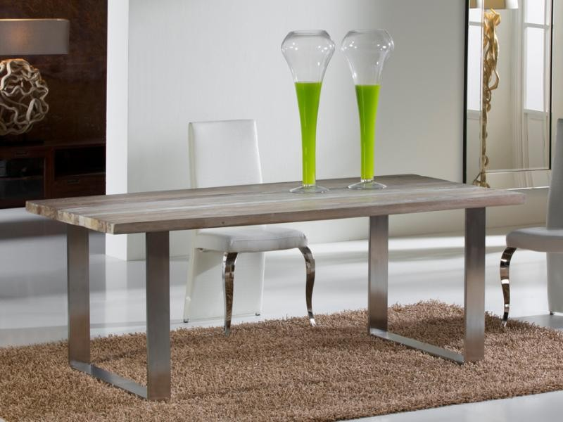 Masa moderna,dim.200x100cm, -Dinning table- Pirena 543519, Mese dining, Corpuri de iluminat, lustre, aplice a