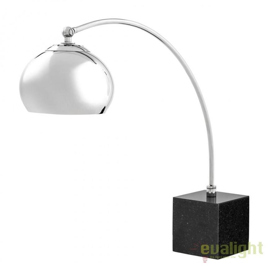 Lampa de masa, lampa de birou design LUX Lamp 1955 110449 HZ, Veioze de Birou moderne, Corpuri de iluminat, lustre, aplice, veioze, lampadare, plafoniere. Mobilier si decoratiuni, oglinzi, scaune, fotolii. Oferte speciale iluminat interior si exterior. Livram in toata tara.  a