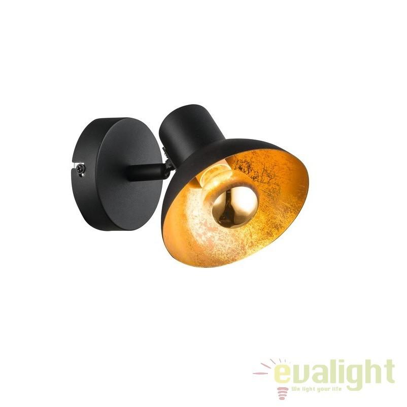 Aplica perete LED cu 1 spot ROSARIO 27028 HT, Spoturi - iluminat - cu 1 spot, Corpuri de iluminat, lustre, aplice, veioze, lampadare, plafoniere. Mobilier si decoratiuni, oglinzi, scaune, fotolii. Oferte speciale iluminat interior si exterior. Livram in toata tara.  a