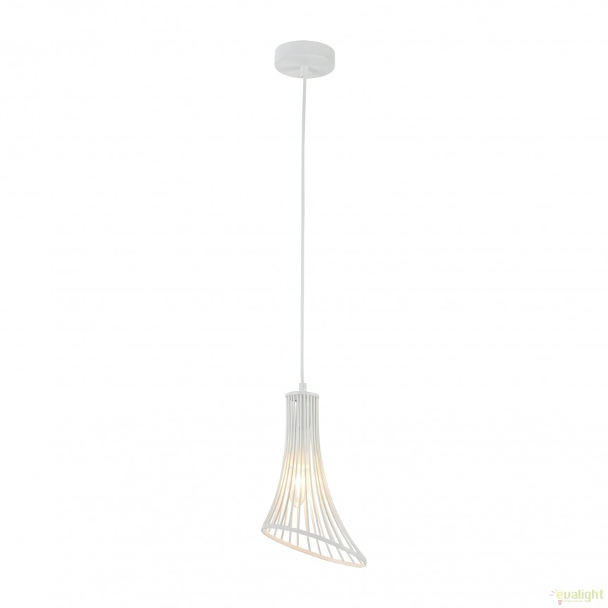 Pendul modern Ginger and Fred II alb MYT062-PL-16-W, PROMOTII,  a