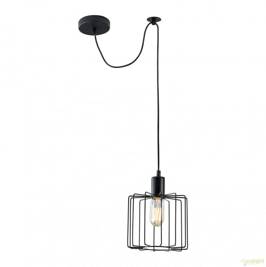 Pendul design modern minimalist Monza II MYT442-PL-01-B, PROMOTII, Corpuri de iluminat, lustre, aplice, veioze, lampadare, plafoniere. Mobilier si decoratiuni, oglinzi, scaune, fotolii. Oferte speciale iluminat interior si exterior. Livram in toata tara.  a