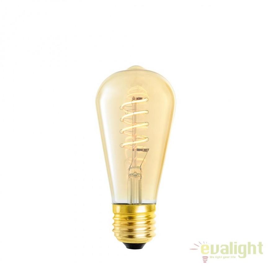 Set de 4 becuri E27 LED Bulb Signature 4W 111176 HZ, Becuri E27, Corpuri de iluminat, lustre, aplice, veioze, lampadare, plafoniere. Mobilier si decoratiuni, oglinzi, scaune, fotolii. Oferte speciale iluminat interior si exterior. Livram in toata tara.  a