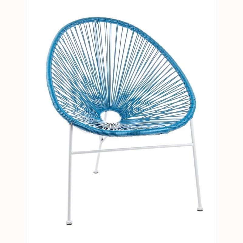 Scaun design modern albastru DOROTHY 0661024 BZ, PROMOTII,  a