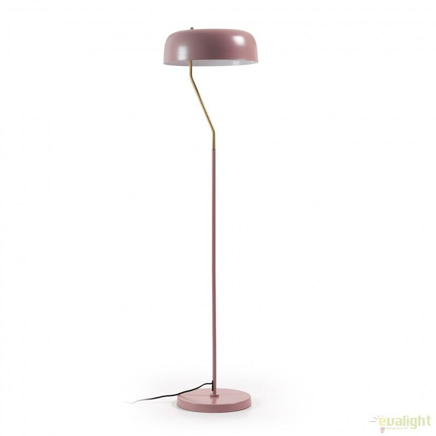 Lampadar / Lampa de podea moderna VERSA roz deschis AA1250R24 JG, Lampadare, Corpuri de iluminat, lustre, aplice, veioze, lampadare, plafoniere. Mobilier si decoratiuni, oglinzi, scaune, fotolii. Oferte speciale iluminat interior si exterior. Livram in toata tara.  a