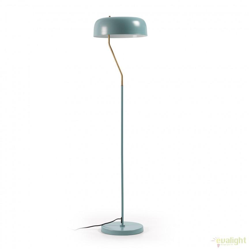 Lampadar / Lampa de podea moderna VERSA albastru deschis AA1250R24 JG, Lampadare, Corpuri de iluminat, lustre, aplice, veioze, lampadare, plafoniere. Mobilier si decoratiuni, oglinzi, scaune, fotolii. Oferte speciale iluminat interior si exterior. Livram in toata tara.  a