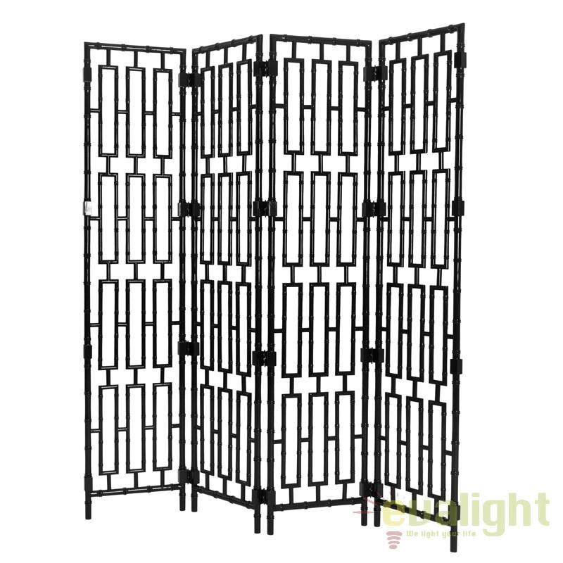Paravan decorativ design LUX din lemn de mahon, Bamboo negru 109437 HZ, Mobilier divers, Corpuri de iluminat, lustre, aplice, veioze, lampadare, plafoniere. Mobilier si decoratiuni, oglinzi, scaune, fotolii. Oferte speciale iluminat interior si exterior. Livram in toata tara.  a