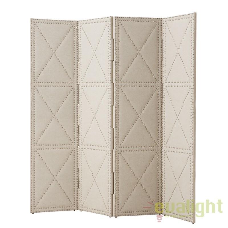 Paravan decorativ capitonat design LUX, Duchamp L 109071 HZ, Mobilier divers, Corpuri de iluminat, lustre, aplice, veioze, lampadare, plafoniere. Mobilier si decoratiuni, oglinzi, scaune, fotolii. Oferte speciale iluminat interior si exterior. Livram in toata tara.  a